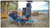 """Dal set di """"Vacanze ai Caraibi"""" (2015)"""